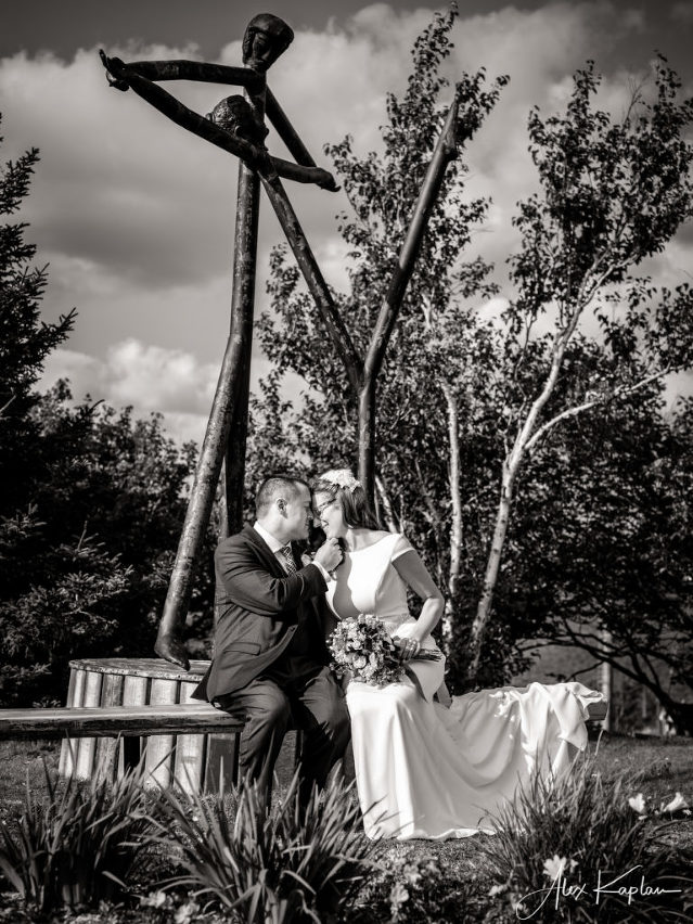 wedding shoot at New york city