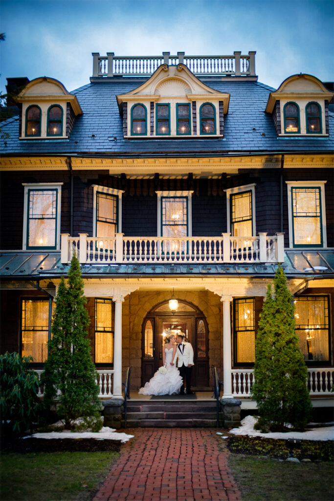 Wedding photography at the Bloomfield Cultural Center 240 Belleville Avenue