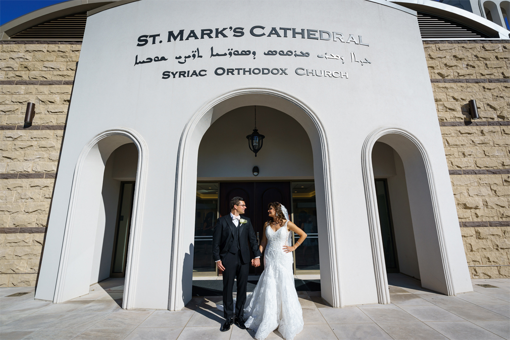 Wedding Photography at St. Mark's Syriac Orthodox Cathedral in Paramus, New Jersey