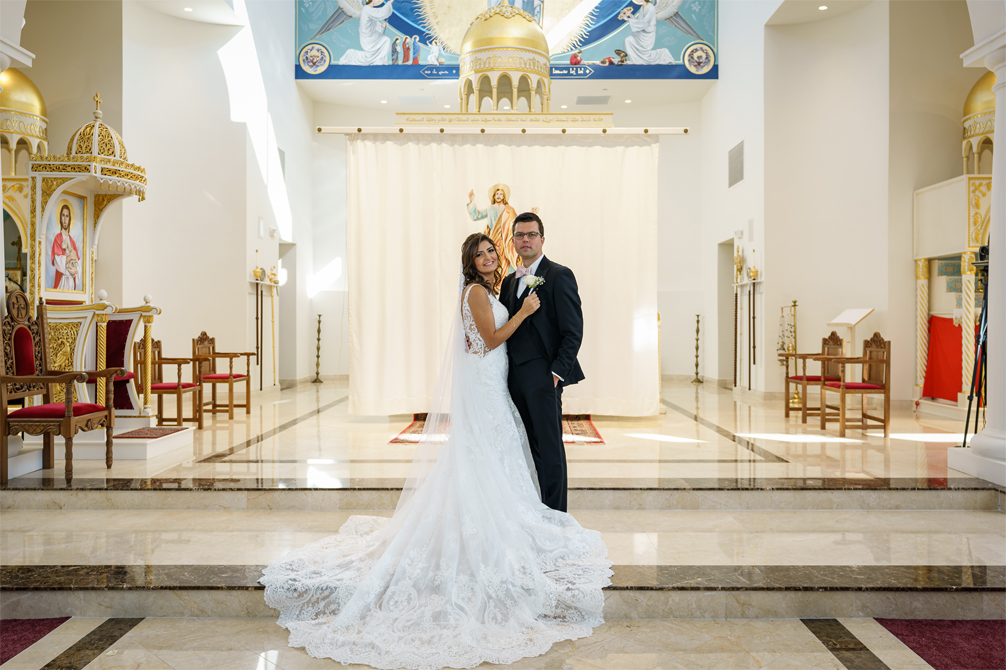 Wedding Photography at St. Mark's Syriac Orthodox Cathedral